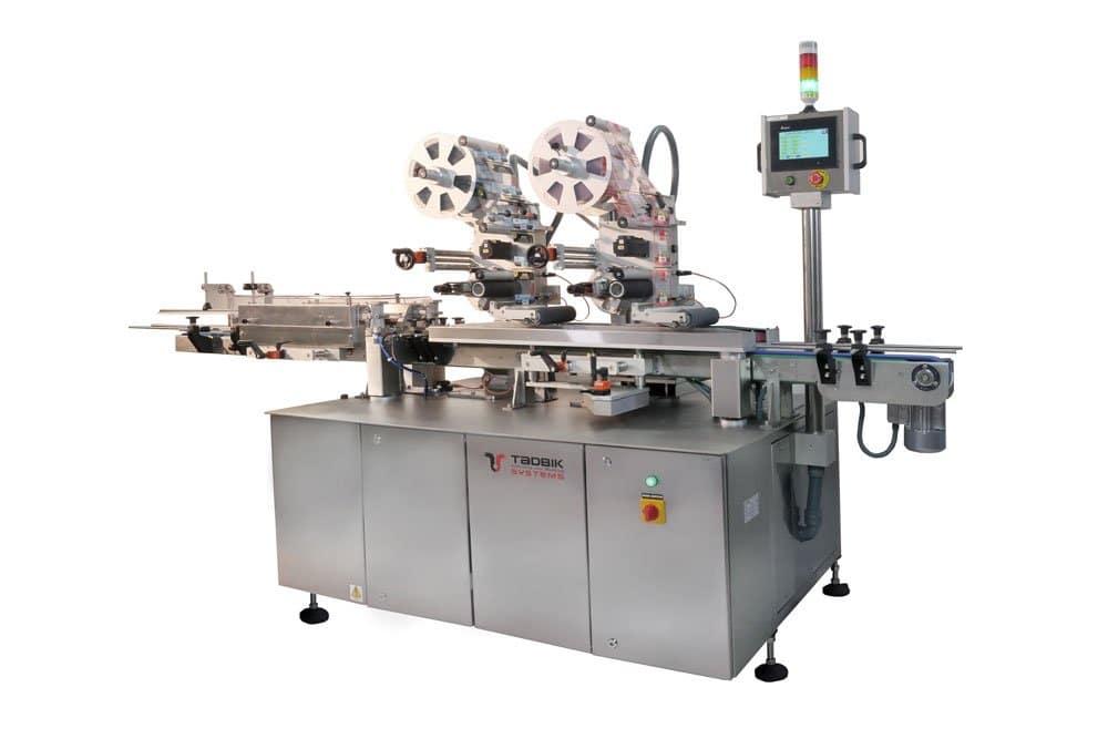 Top-labeling-machine