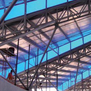בידוד גגות תעשייתיים / מסחריים